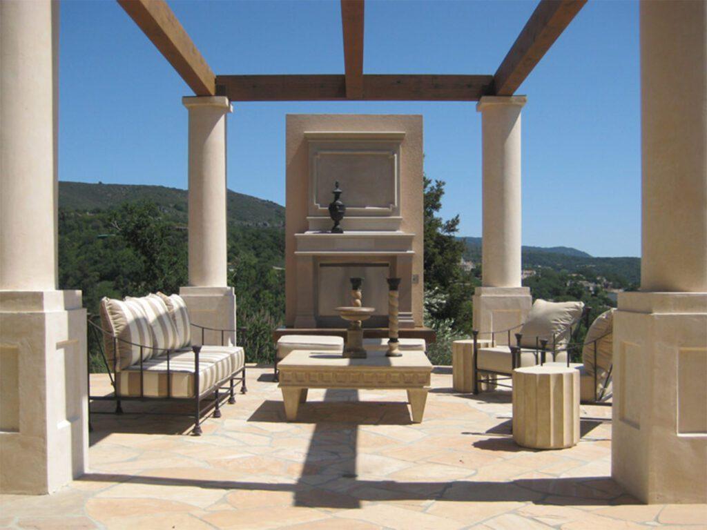 Outdoor Design at Napa Valley Home