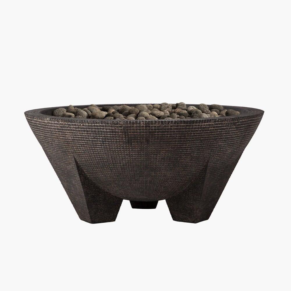 Gobi Fire Bowl from Stone Yard, Inc.