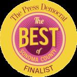 Press Democrat Best of Sonoma County Finalist 2019